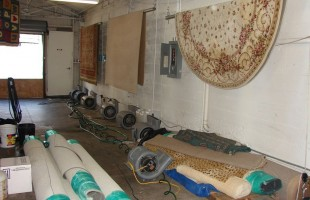 We Have A Huge Warehouse Where All The Rugs Are Professionally Cleaned & Dried